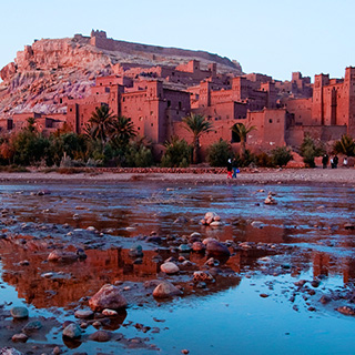 Day trip through the Atlas Mountains to Aït Benhaddou.