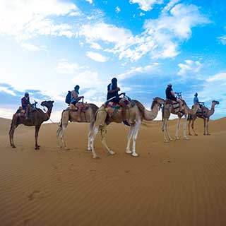 MHARECH & MERZOUGA. 6DAYS/5NIGHTS FROM  MARRAKECH.